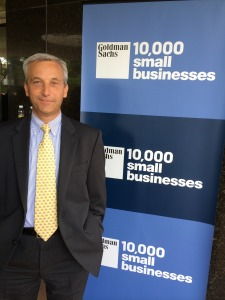 Don Watza, Goldman Sachs 10,000 small businesses cohort III